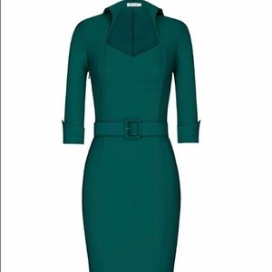 Dresses & Skirts - Pin up girl style forest green so pretty-